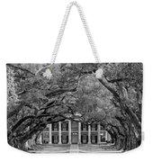 Southern Time Travel Bw Weekender Tote Bag by Steve Harrington