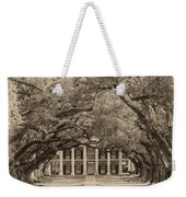 Southern Time Travel Sepia Weekender Tote Bag by Steve Harrington
