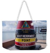 Southernmost Point Marker Weekender Tote Bag