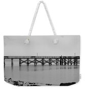 Southport Fishing Pier Weekender Tote Bag