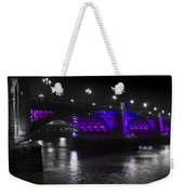 Southwark Bridge London Weekender Tote Bag