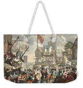 Southwark Fair, 1733, Illustration Weekender Tote Bag