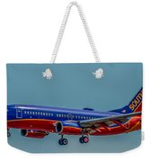 Southwest 737 Landing Weekender Tote Bag