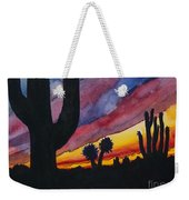 Southwest Art Weekender Tote Bag