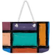 Southwest Home And Garden Color Block Weekender Tote Bag