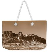 Southwest In Sepia  Weekender Tote Bag