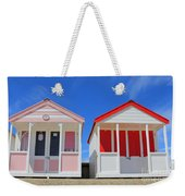 Southwold Beach Huts Weekender Tote Bag