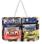 Souvenirs Of Pompei Weekender Tote Bag