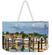 Soverel Harbour Marina Weekender Tote Bag