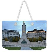 Soviet Red Army Monument Budapest Hungary Weekender Tote Bag