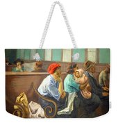 Soyer's A Railroad Station Waiting Room Weekender Tote Bag