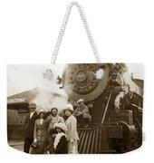S P Baldwin Locomotive 2285  Class T-26 Ten Wheel Steam Locomotive At Pacific Grove California 1910 Weekender Tote Bag