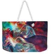 Space Bubble Weekender Tote Bag