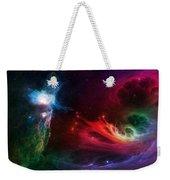 Space Cat Angel - 1 Weekender Tote Bag by Julie Turner