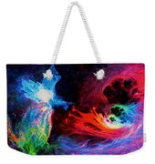 Space Cat Angel - 2 Weekender Tote Bag by Julie Turner