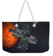 Space Colony Weekender Tote Bag