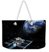 Space Exploration, Earth, Illustration Weekender Tote Bag
