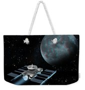 Space Exploration, Moon, Illustration Weekender Tote Bag