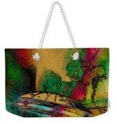 Space Nebula Weekender Tote Bag