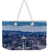 Space Needle 12th Man Seahawks Weekender Tote Bag