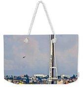 Space Needle Seattle Weekender Tote Bag