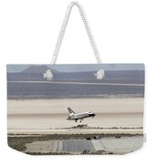 Space Shuttle Atlantis Landing Weekender Tote Bag