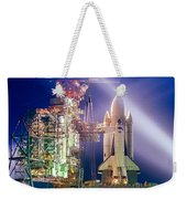 Space Shuttle Columbia Weekender Tote Bag