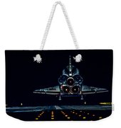 Space Shuttle Night Landing Weekender Tote Bag