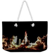 Space Shuttle Night Launch Weekender Tote Bag