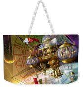 Space Station Weekender Tote Bag