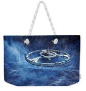Deep Space Eight Station Of The Future Weekender Tote Bag