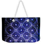 Space Time At Planck Length Vibrating At Speed Of Light Due To Heisenberg Uncertainty Principle Weekender Tote Bag