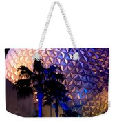 Spaceship Earth Weekender Tote Bag