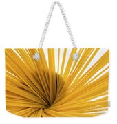 Spaghetti Spiral Weekender Tote Bag