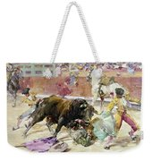 Spain - Bullfight C1900 Weekender Tote Bag