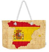 Spain Weekender Tote Bag