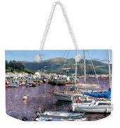 Boats In Spain Series 26 Weekender Tote Bag