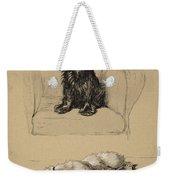 Spaniel And Sealyham, 1930 Weekender Tote Bag