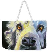 Spaniel In Thought Weekender Tote Bag