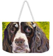 Spaniel The Eyes Have It Weekender Tote Bag