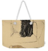 Spaniels, 1930, Illustrations Weekender Tote Bag by Cecil Charles Windsor Aldin