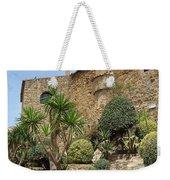 Spanish Church Garden Weekender Tote Bag
