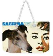 Spanish Galgo Art - Sabrina Movie Poster Weekender Tote Bag