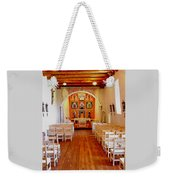 Spanish Mission Church New Mexico Weekender Tote Bag
