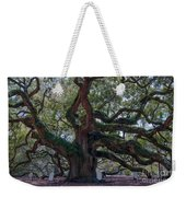 Spanish Moss Draped Limbs Weekender Tote Bag