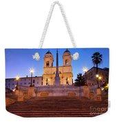 Spanish Steps Dawn Weekender Tote Bag