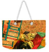 Spanish Tradition Weekender Tote Bag