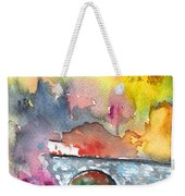 Spanish Village By The River 01 Weekender Tote Bag