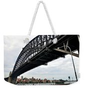 Spanning Sydney Harbour Weekender Tote Bag by Kaye Menner