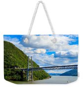 Spanning The Hudson River Weekender Tote Bag